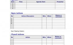 006 Singular Team Meeting Agenda Template Image  Word Doc