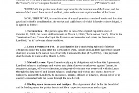 006 Singular Template For Terminating A Lease Agreement Highest Quality  Rental Sample Letter