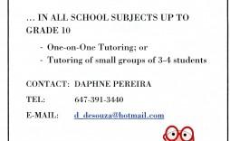 006 Singular Tutoring Flyer Template Free High Def  Word Math