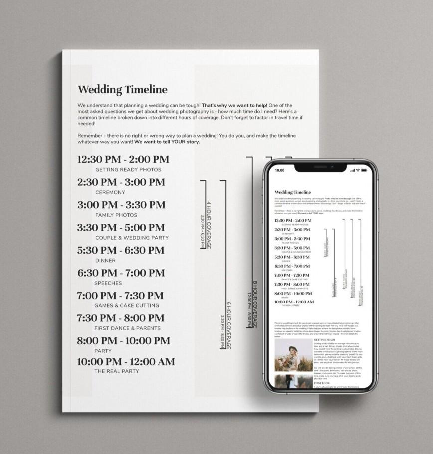 006 Singular Wedding Timeline Template Free Image  Day Excel Program868