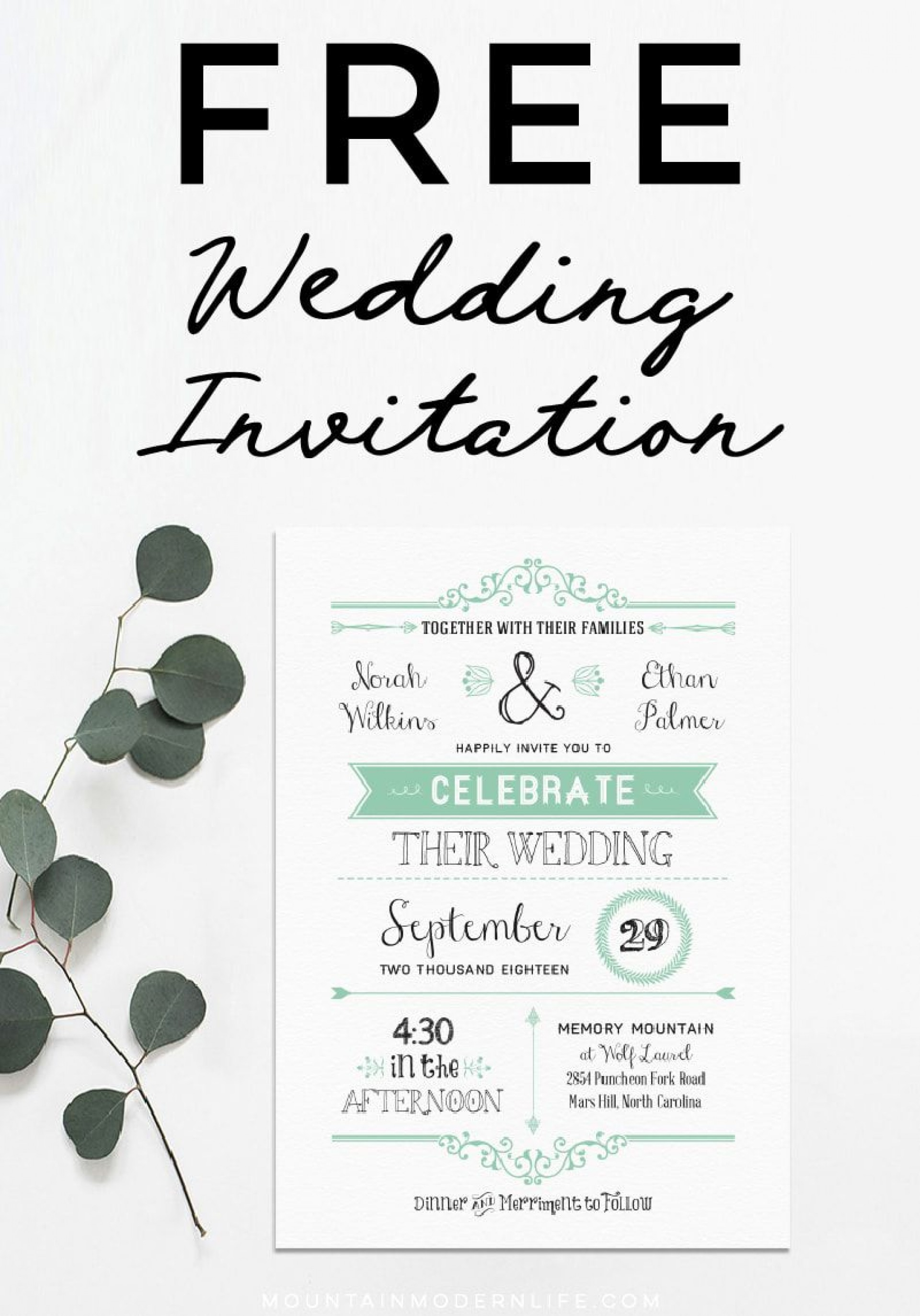 006 Staggering Celebration Of Life Invite Template Free Photo  Invitation Download1920
