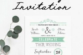 006 Staggering Celebration Of Life Invite Template Free Photo  Invitation Download