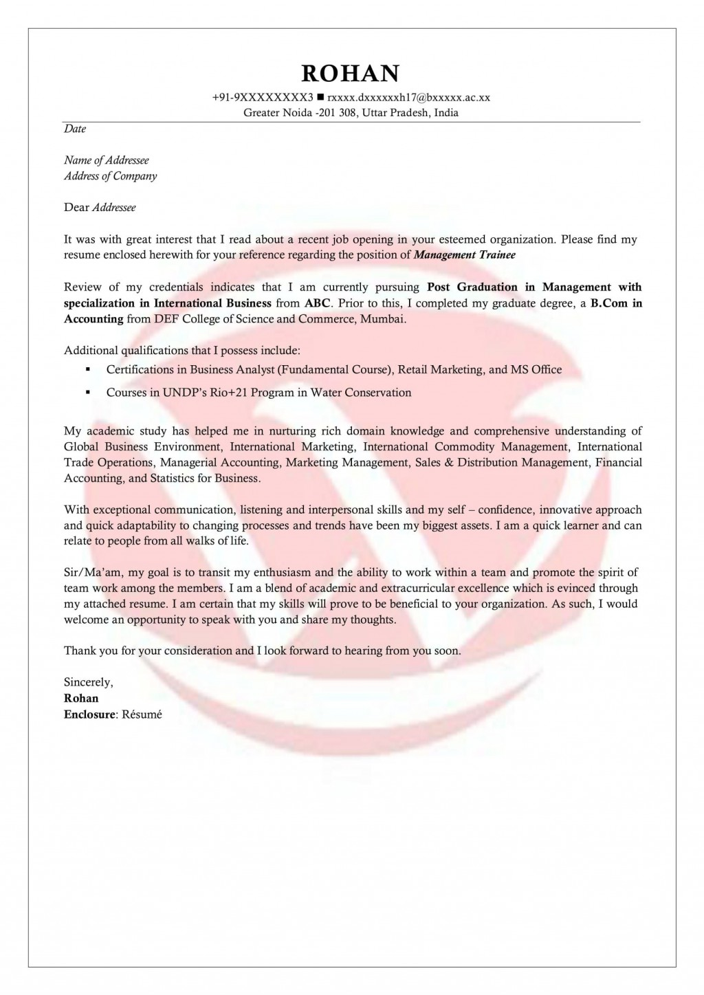 006 Staggering Cover Letter For Internship Template High Definition  Free Engineering Example SummerLarge