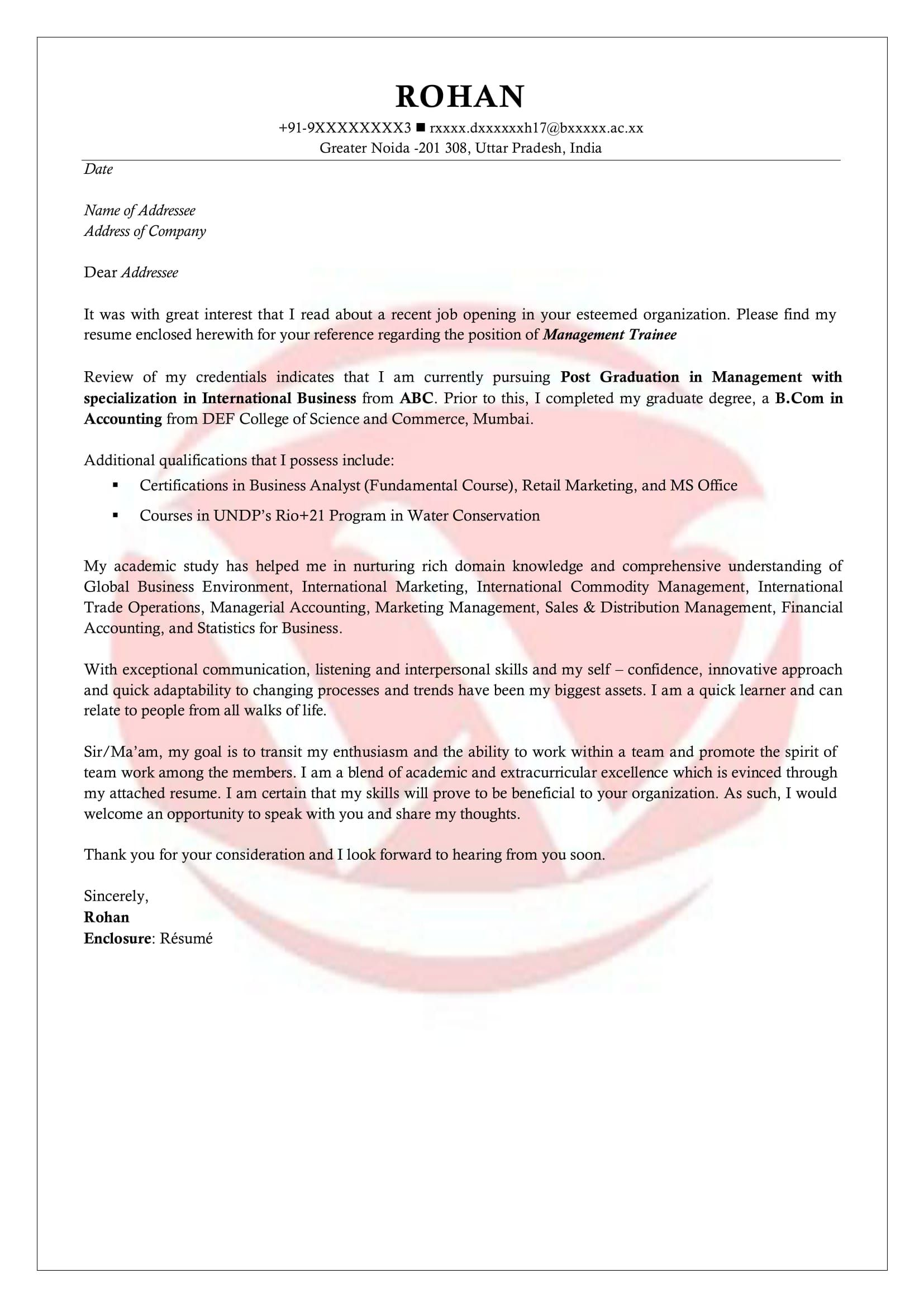 006 Staggering Cover Letter For Internship Template High Definition  Free Engineering Example SummerFull