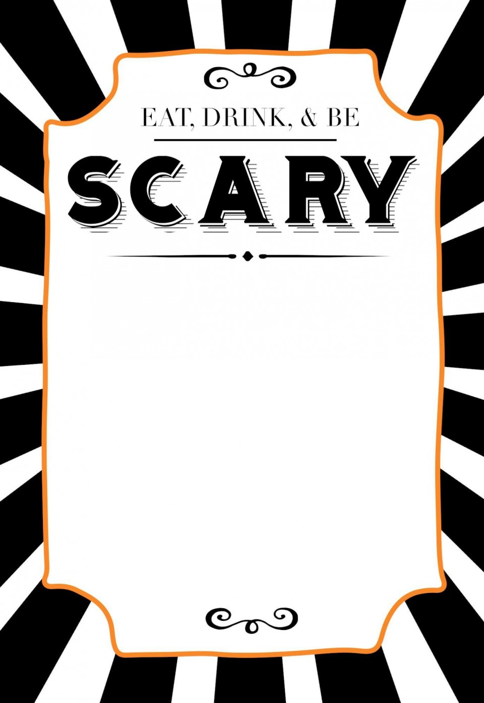 006 Staggering Free Halloween Invitation Template Printable Picture  Party Birthday960