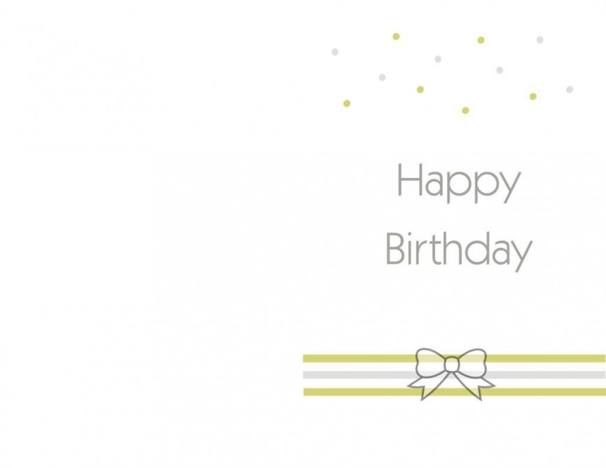 006 Staggering Free Printable Birthday Card Template For Mac Inspiration