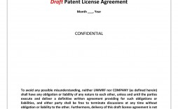 Photography License Agreement Template ~ Addictionary