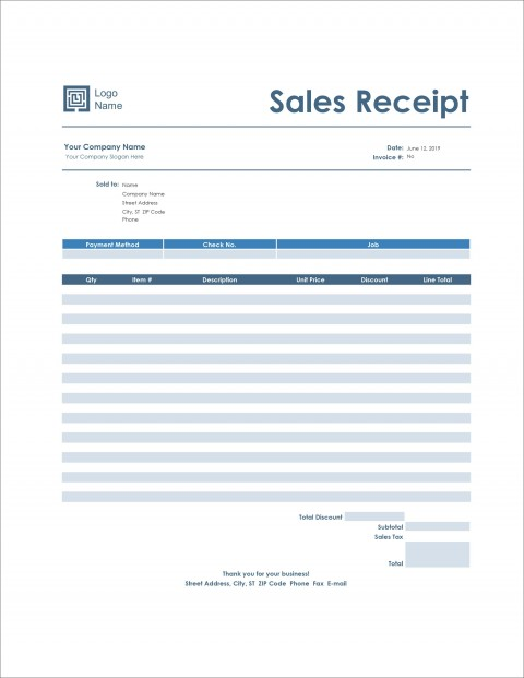 006 Staggering Receipt Template Microsoft Word Design  Payment Sample Invoice480