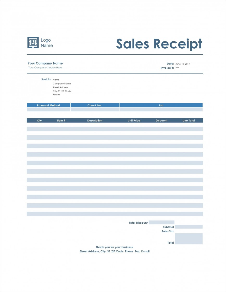 006 Staggering Receipt Template Microsoft Word Design  Invoice Free Money Blank868