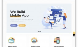 006 Staggering Single Page Website Template Design  Templates Free Download One Html