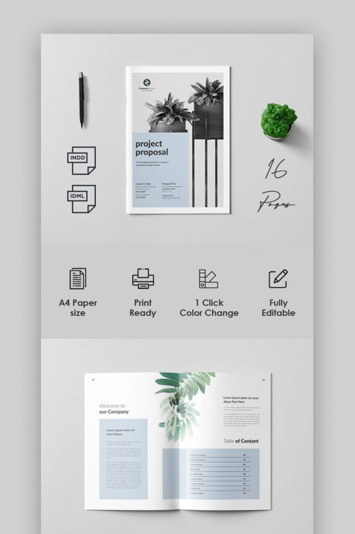 006 Staggering Social Media Proposal Template 2019 Sample 728