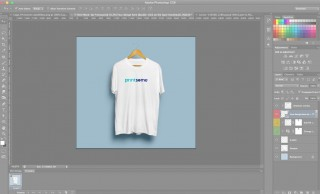 006 Staggering T Shirt Design Template Psd Idea  Blank T-shirt Free Download Layout Photoshop320