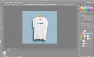006 Staggering T Shirt Design Template Psd Idea  Blank T-shirt Free Download Layout Photoshop360