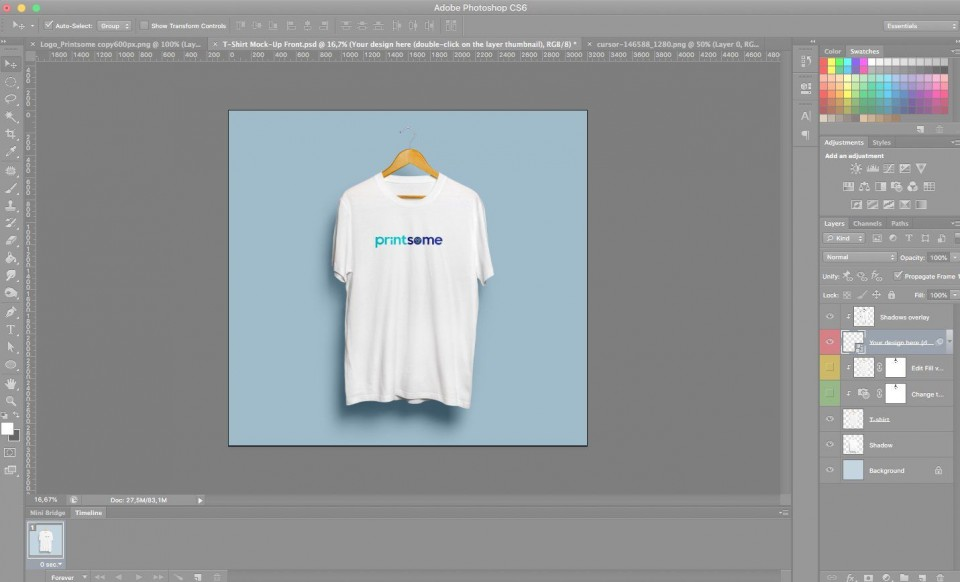 006 Staggering T Shirt Design Template Psd Idea  Blank T-shirt Free Download Layout Photoshop960