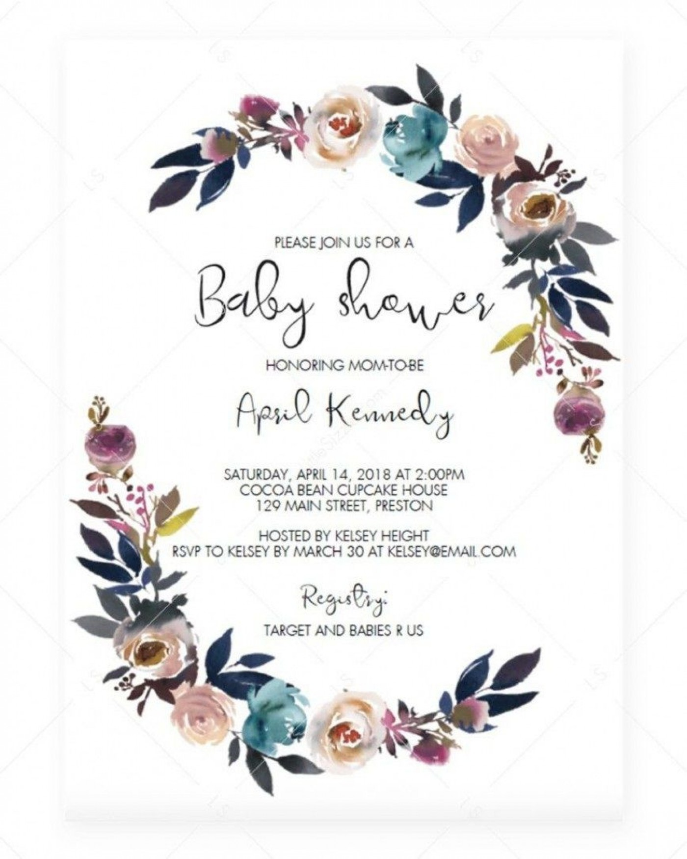 006 Stirring Baby Shower Invitation Card Template Free Download Idea  Indian1400