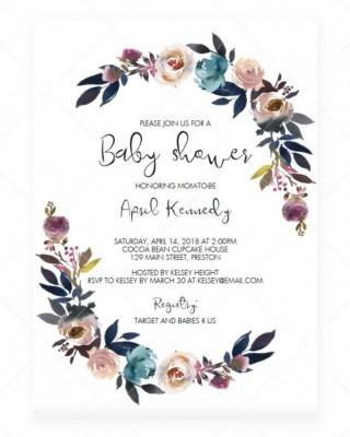006 Stirring Baby Shower Invitation Card Template Free Download Idea  Indian320