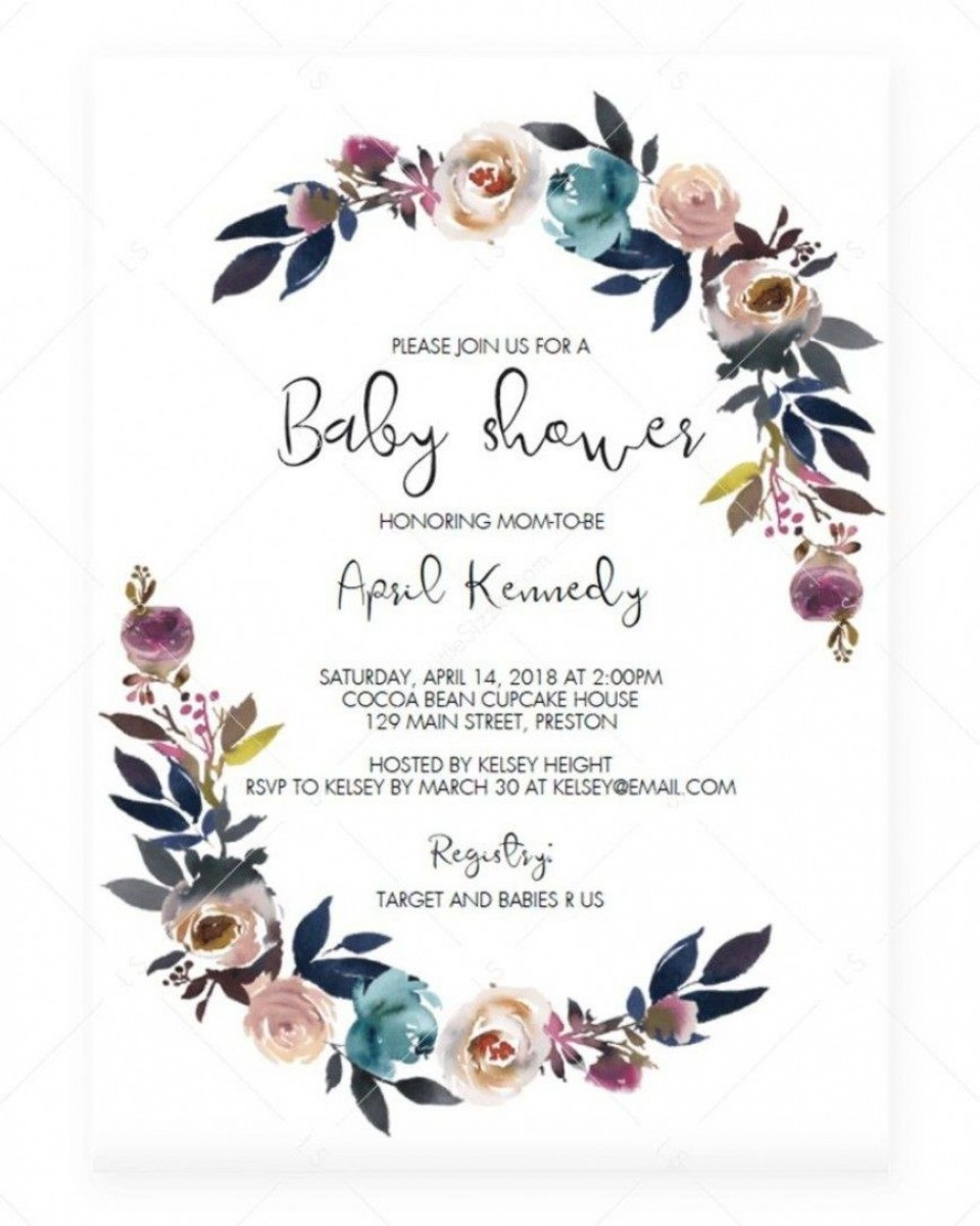 006 Stirring Baby Shower Invitation Card Template Free Download Idea  Indian960