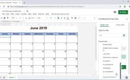 006 Stirring Editable Calendar Google Doc 2021 Design
