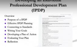 006 Stirring Employee Development Plan Goal Example Design  Examples