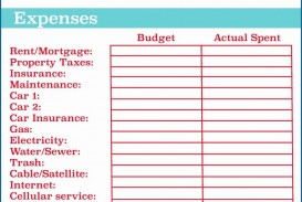006 Stirring Excel Monthly Budget Template Example  South Africa