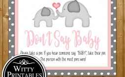 006 Stirring Free Girl Elephant Baby Shower Printable High Resolution  Printables