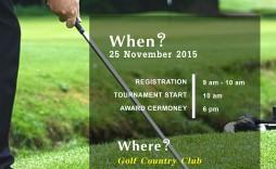 006 Stirring Golf Tournament Flyer Template Photo  Word Free Pdf