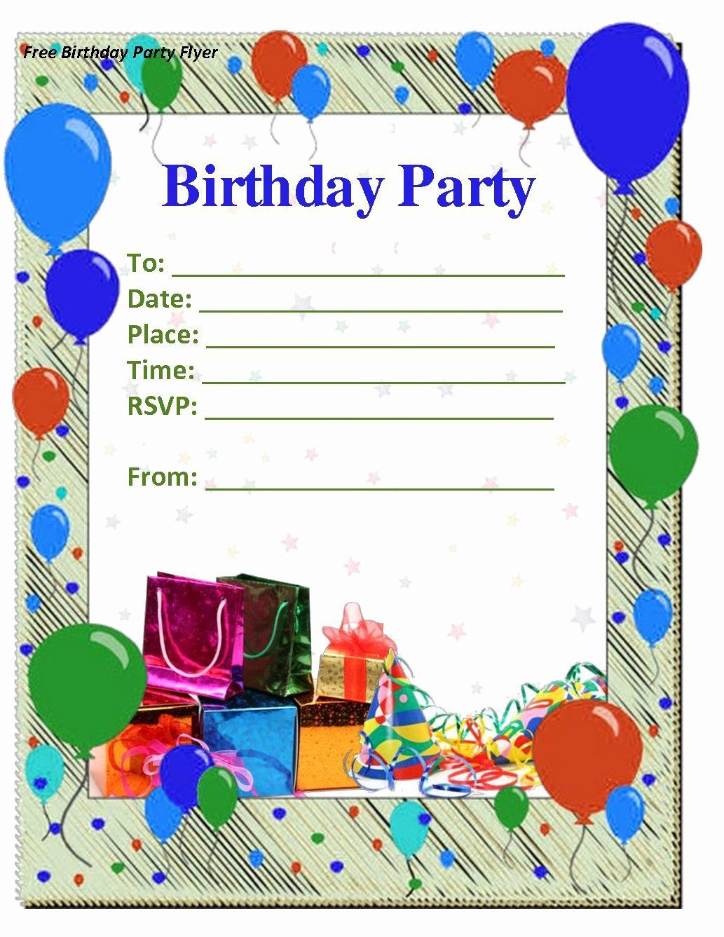 006 Stirring Microsoft Word Birthday Card Invitation Template High Def Full