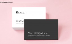 006 Stirring Powerpoint Busines Card Template Highest Clarity  Digital Ppt Free Download
