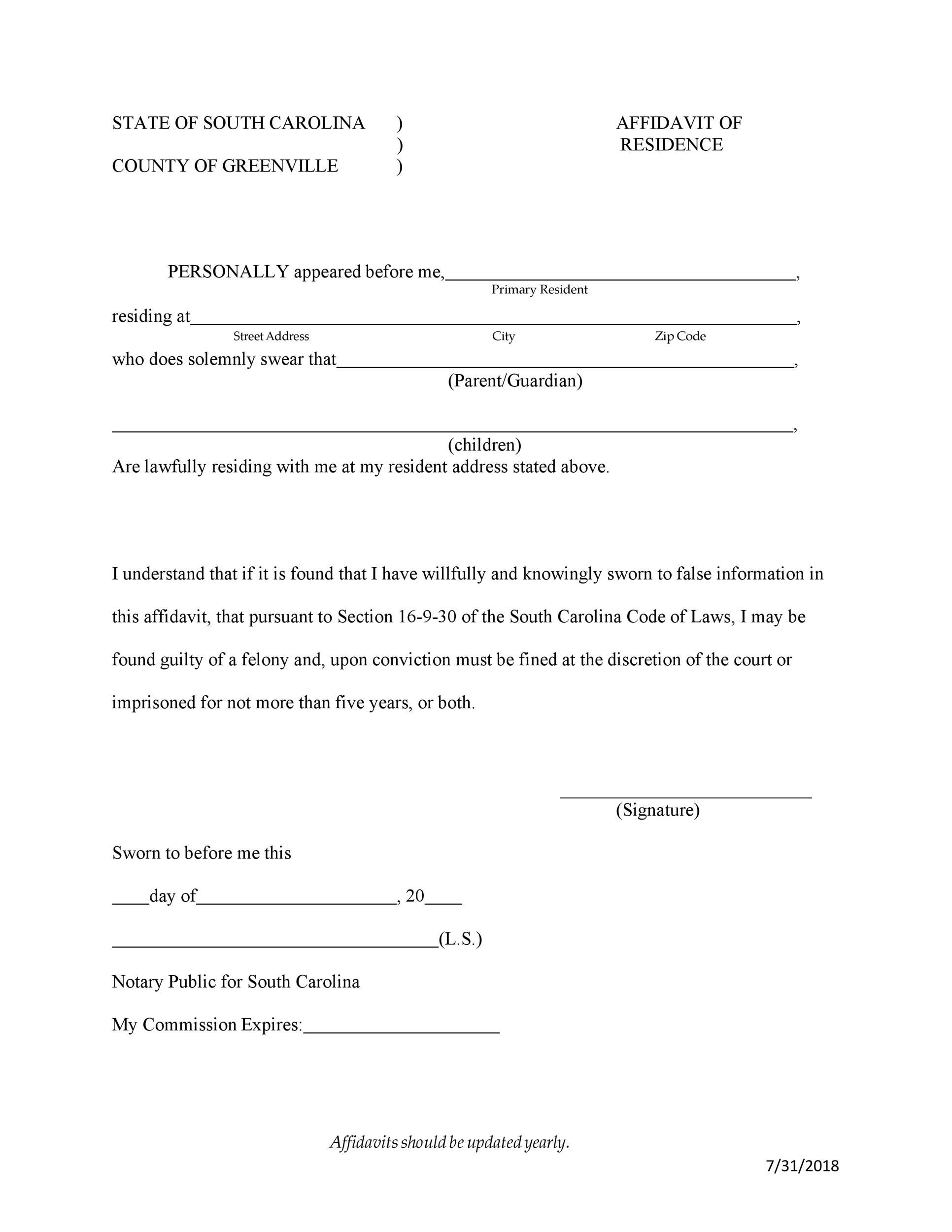 006 Stirring Proof Of Residency Letter Template Photo  Pdf From Landlord Family Member South AfricaFull