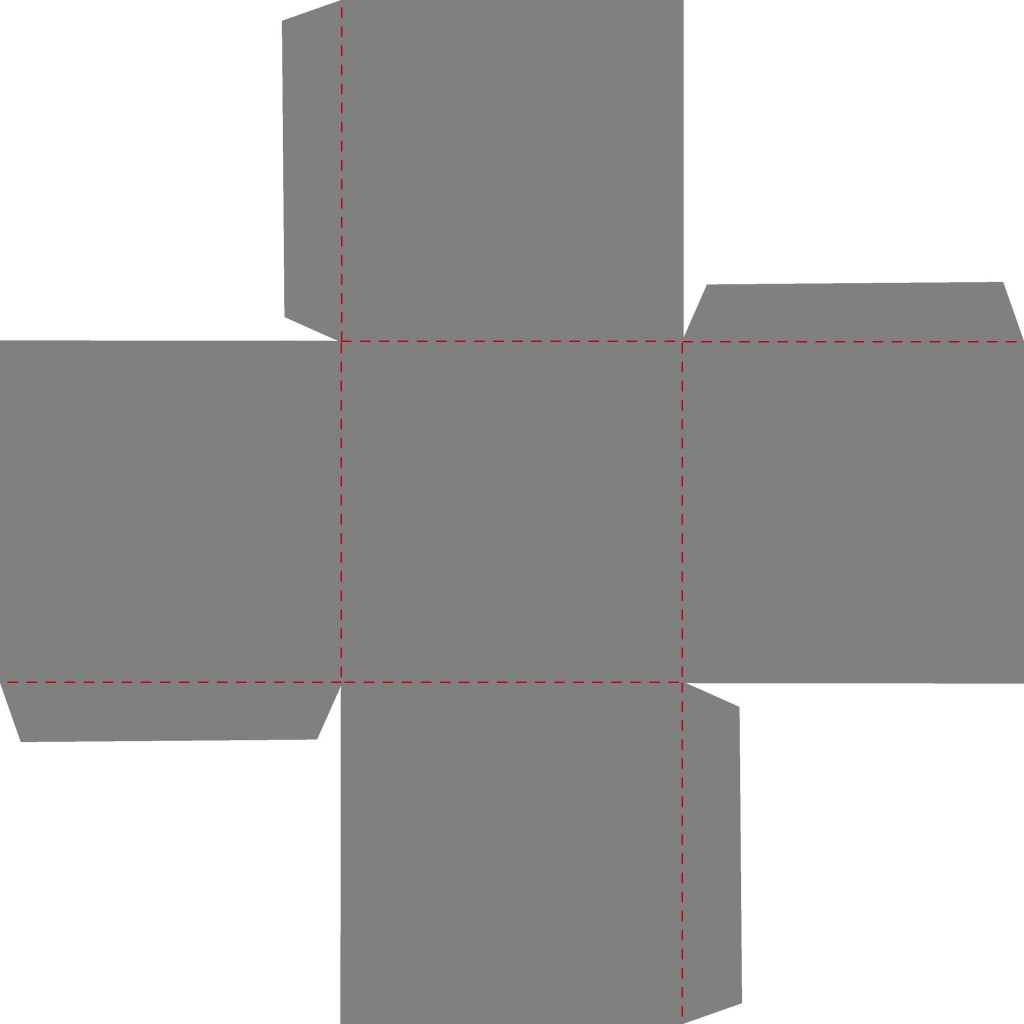 006 Stirring Square Box Template Free Printable Idea Large