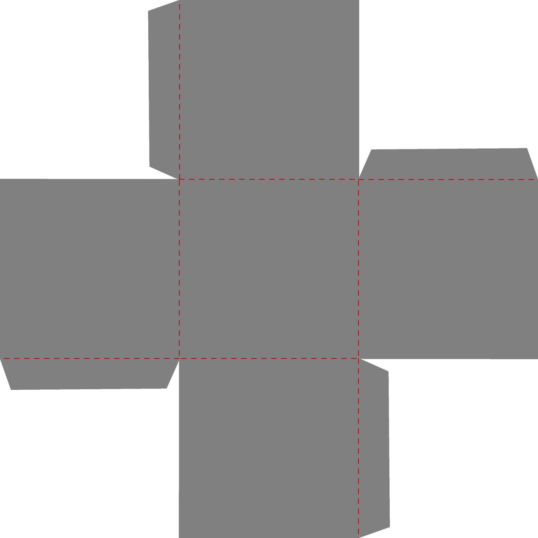 006 Stirring Square Box Template Free Printable Idea Full