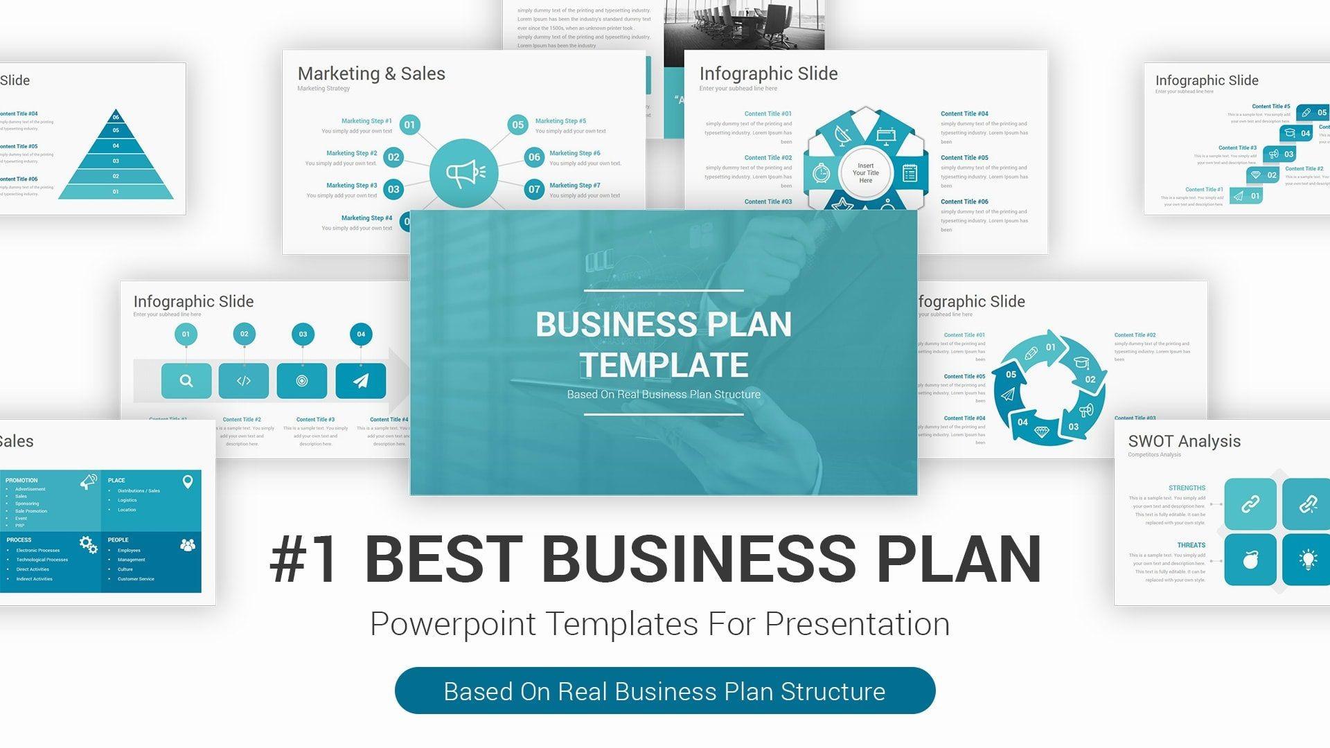 006 Striking Best Busines Plan Template Photo  Ppt Free Download1920