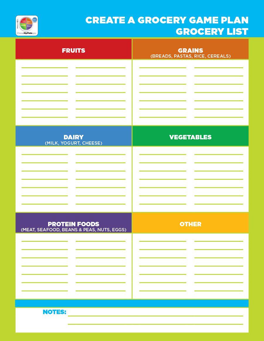 006 Striking Grocery List Template Word Doc Highest Clarity  Shopping DocumentFull