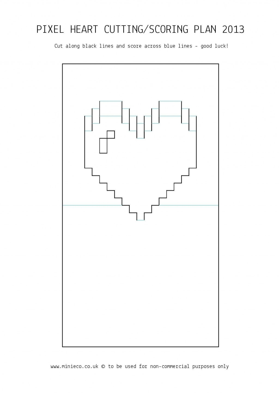 006 Striking Pop Up Card Template Idea  3d Pdf Carousel Pattern DownloadLarge