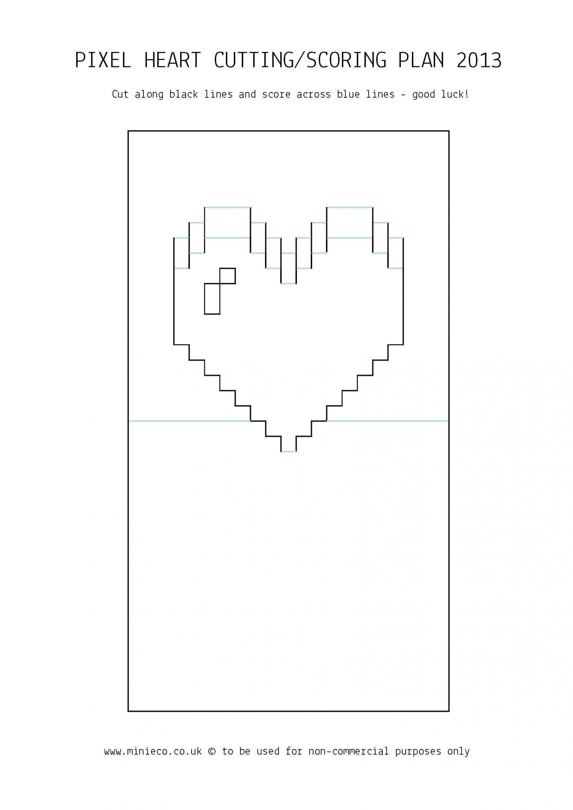 006 Striking Pop Up Card Template Idea  3d Pdf Carousel Pattern Download1920