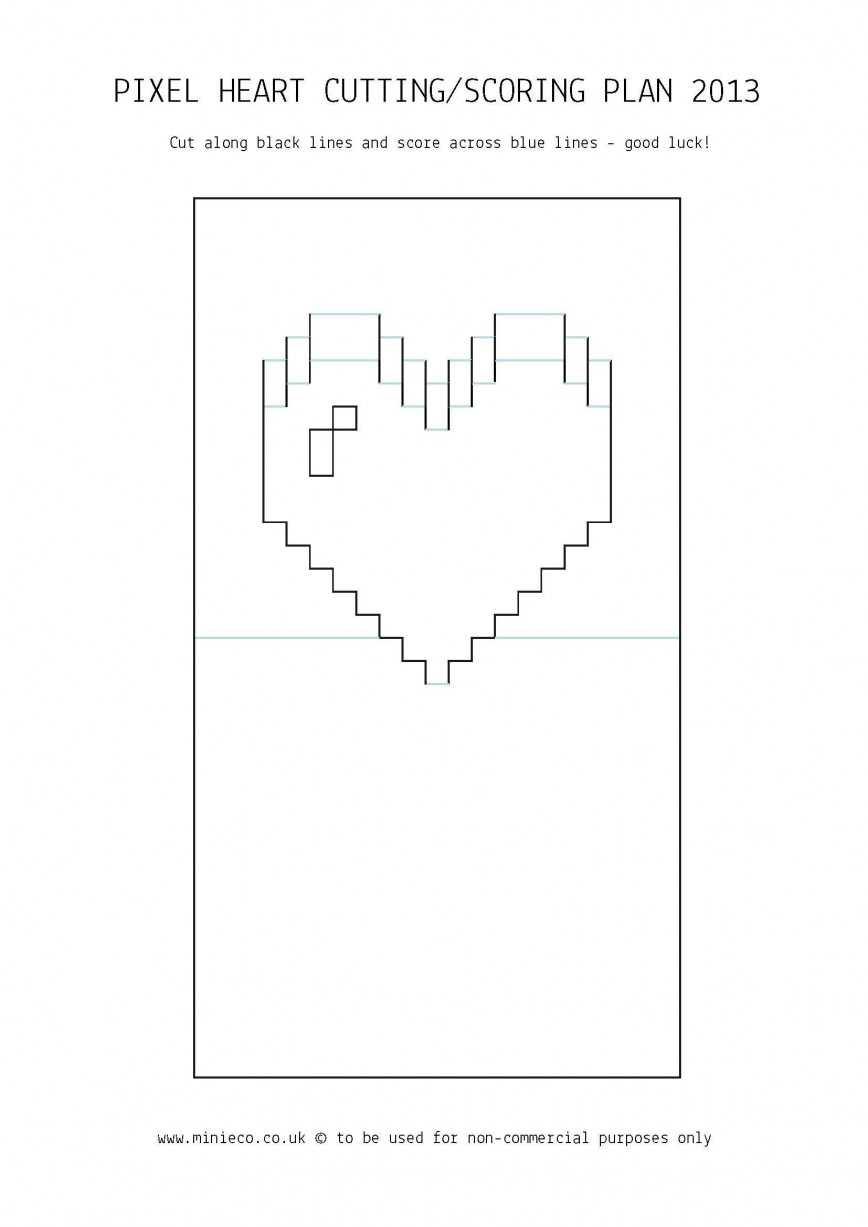 006 Striking Pop Up Card Template Idea  Free Download 3d Kissing Couple