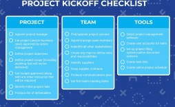 006 Striking Project Management Kick Off Meeting Agenda Template Sample  Kickoff