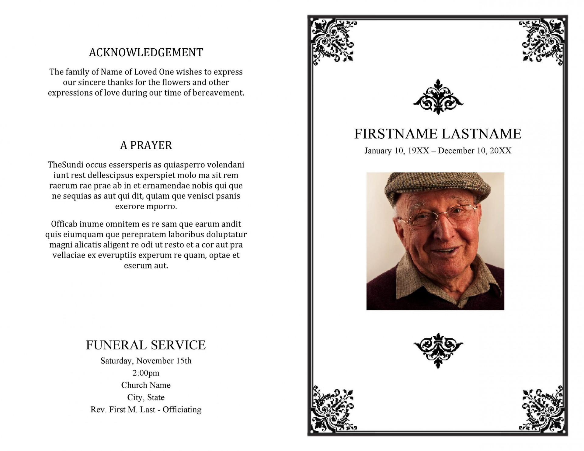 006 Striking Template For Funeral Program Free Image  Printable Download On Word Editable Pdf1920