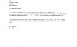 006 Striking Two Week Notice Letter Template Highest Quality  Free Professional 2