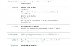 006 Stunning Create A Resume Template Free Inspiration  Your Own Writing