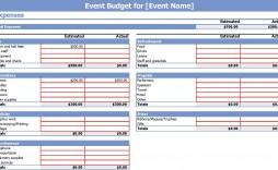 006 Stunning Event Planning Budget Worksheet Template Image  Free Download Spreadsheet Planner
