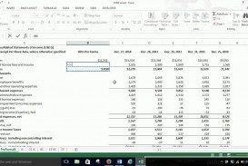 006 Stunning Income Statement Format In Excel With Formula Picture