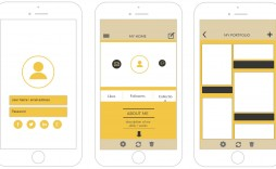 006 Stunning Iphone App Design Template Inspiration  Templates Io Sketch Psd Free Download