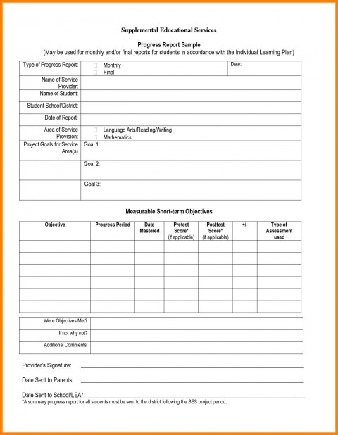 006 Stunning Middle School Report Card Template Pdf Design 480