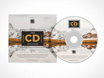 006 Stunning Music Cd Cover Design Template Free Download High Definition 360