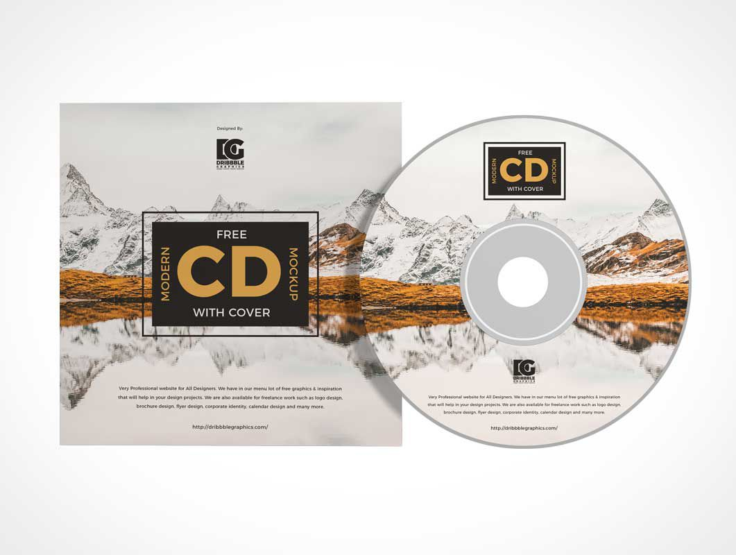 006 Stunning Music Cd Cover Design Template Free Download High Definition Full