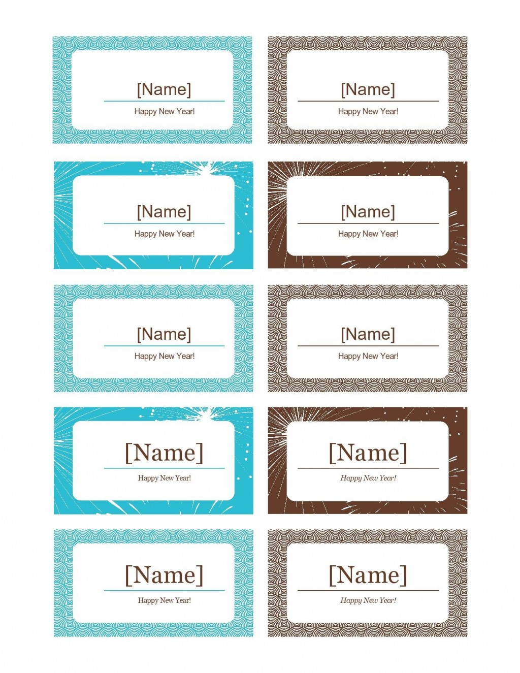 006 Stunning Name Place Card Template Free Download Picture  Psd VectorLarge