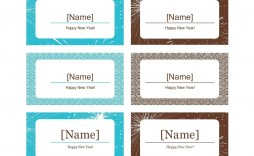 006 Stunning Name Place Card Template Free Download Picture  Psd Vector