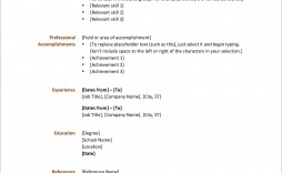 006 Stunning Resume Format Example Free Download High Def