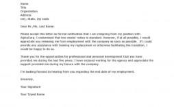 006 Stunning Sample Resignation Letter Template Highest Clarity  For Teacher Word - Free Downloadable